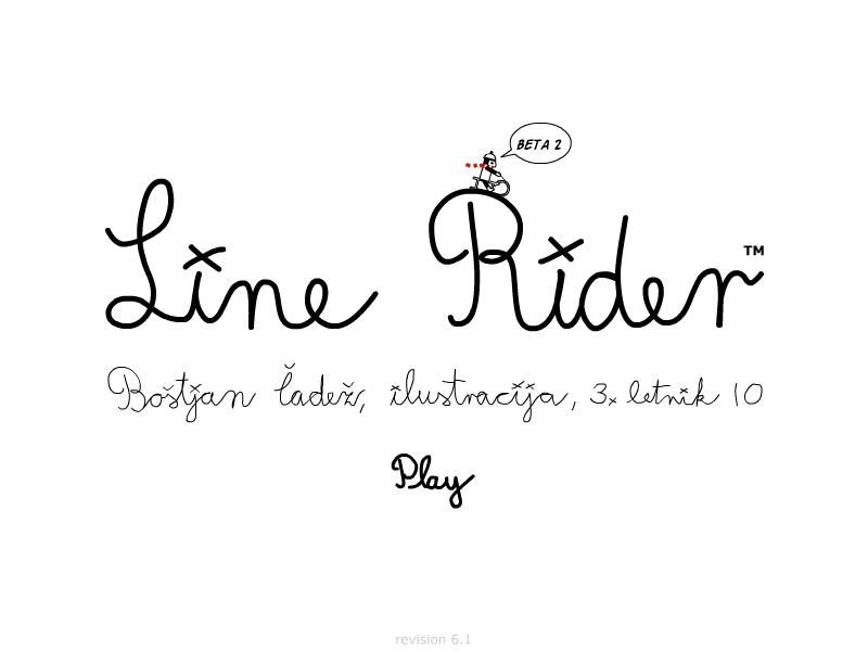 Line rider latest version download.
